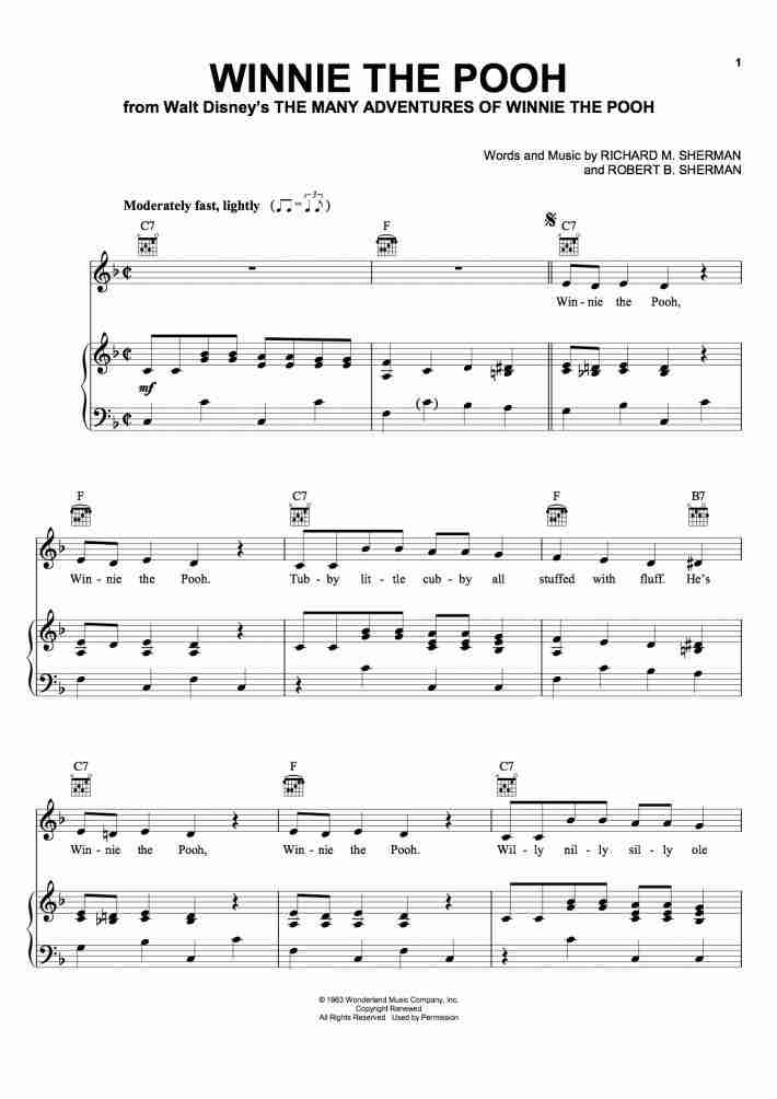 Title Song Piano Sheet Music Onlinepianist