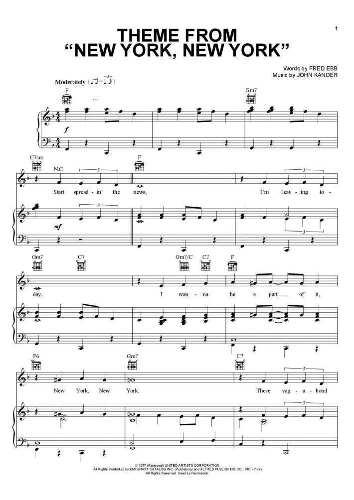 Fly Me To The Moon Piano Sheet Music Onlinepianist