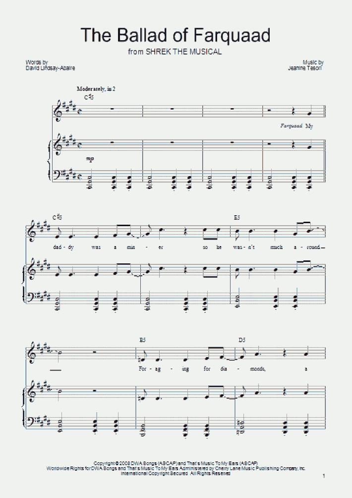 The Ballad of Farquaad
