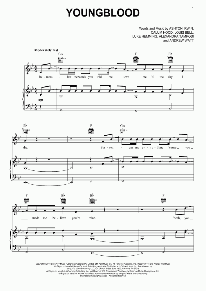 Royals Piano Sheet Music | OnlinePianist