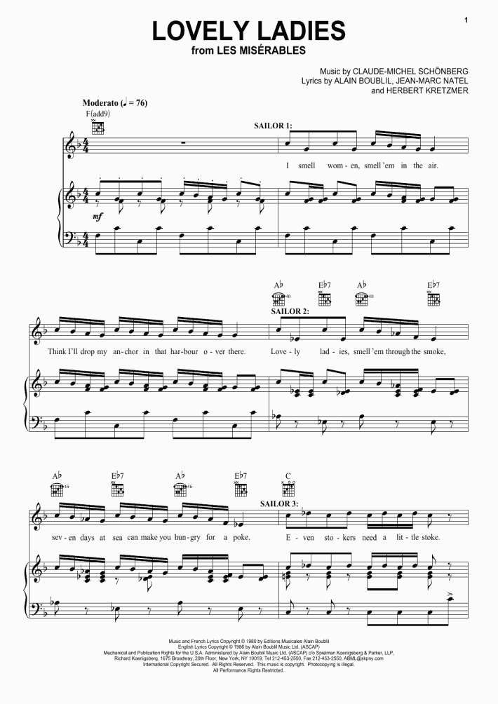 A Million Dreams Piano Sheet Music | OnlinePianist