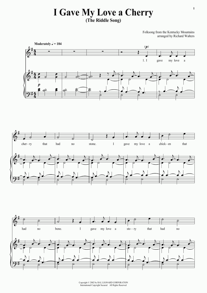 Turkey in the Straw Piano Sheet Music | OnlinePianist