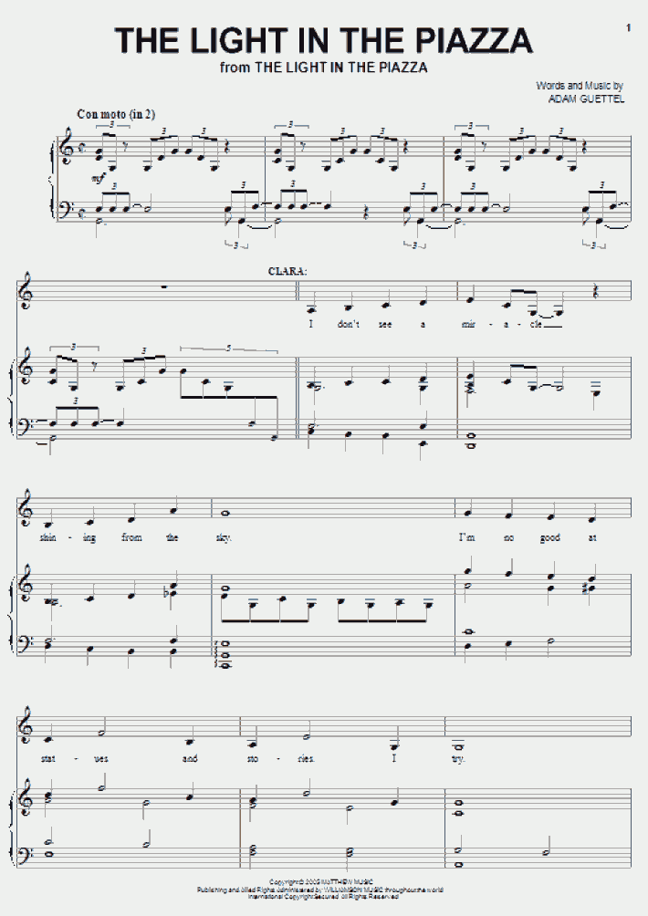 Schindler's List Theme Piano Sheet Music
