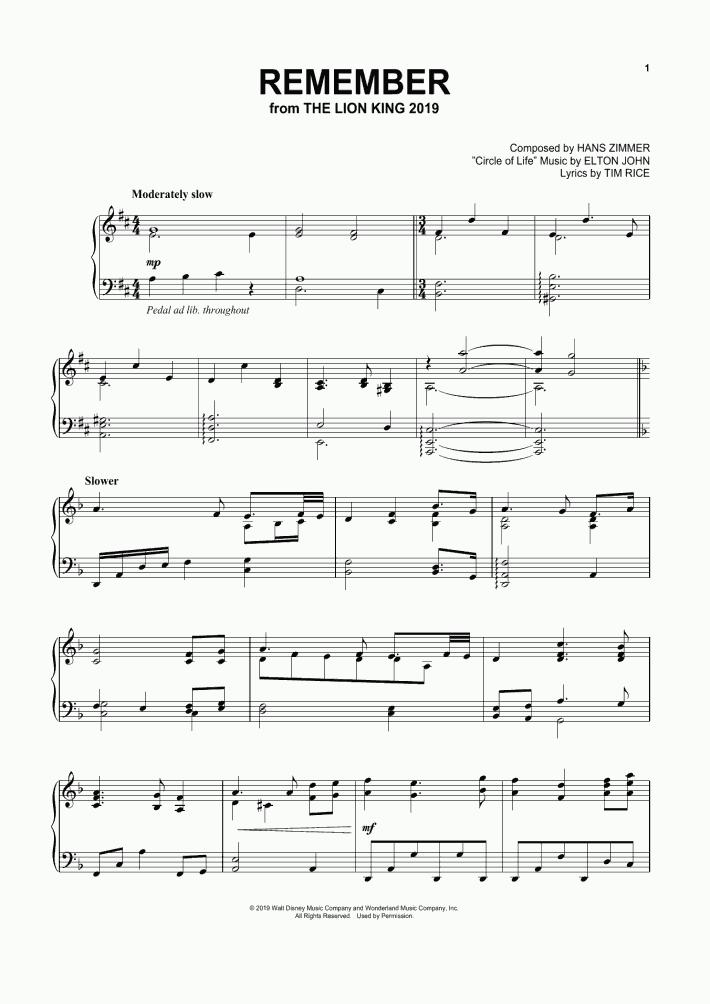 Piano Sheet Music - Piano Sheets for Popular Songs