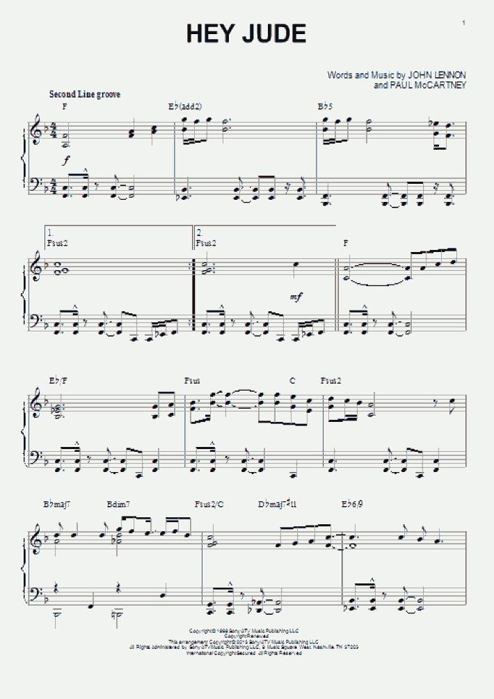 Hey Jude [Jazz version] (arr. Brent Edstrom)