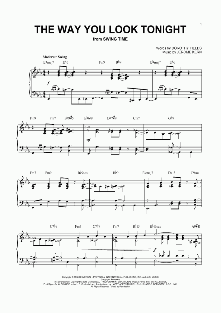 Look At Me Piano Sheet Music | OnlinePianist