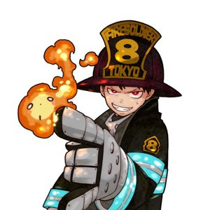 Fire Force piano