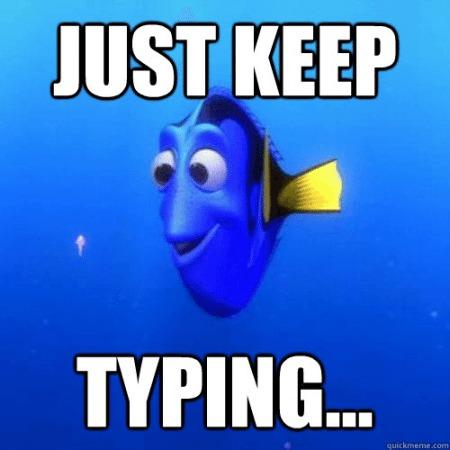 Typing skills