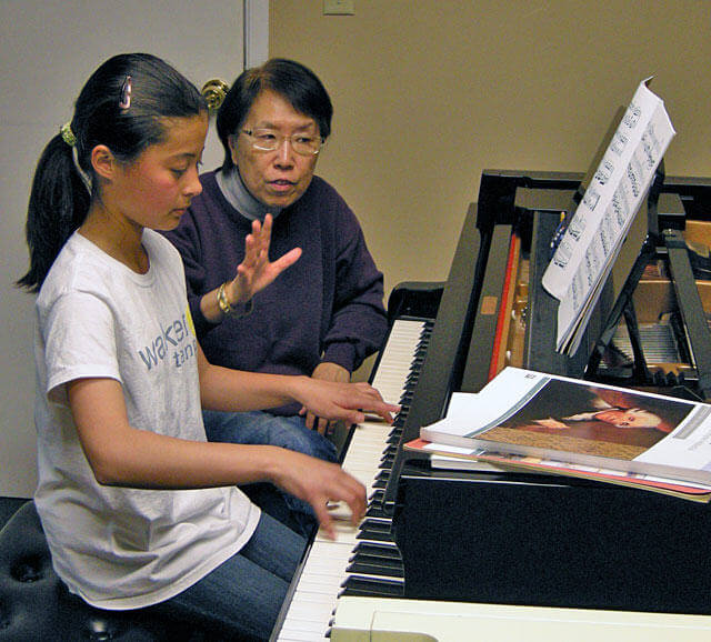 Piano Teacher's Place For Lessons