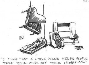 piano helps problems