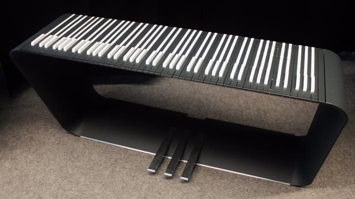 Modern Piano Keyboard